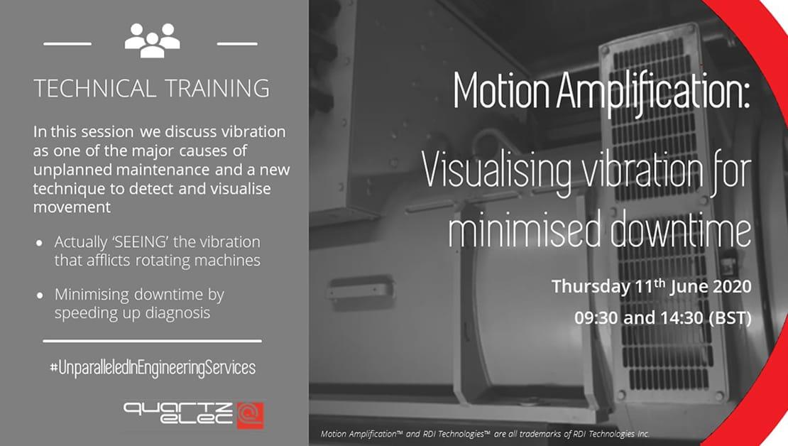 Motion Amplification Vibration Analysis Tool